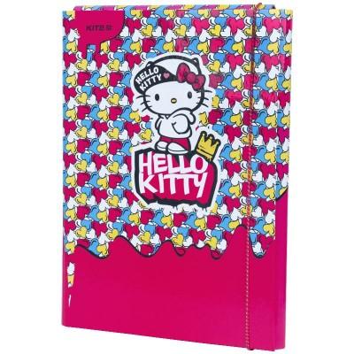 Папка для праці на гумці Hello Kitty А4+