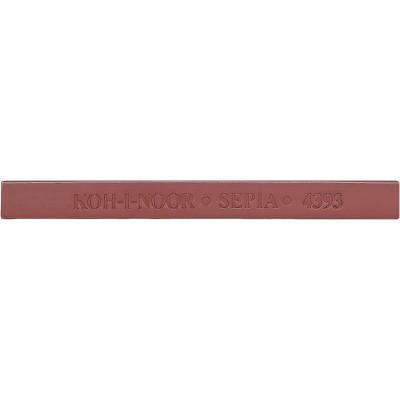 Брусок художній, сепія коричнево-червона (18шт/уп)