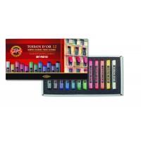 Крейда пастельна Toison D'OR (набір-12 кольорів) 8512
