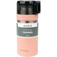 Термос Kite (персиковий) 473мл.