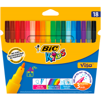 Фломастери Kids Visa 880 (18 кольорів)