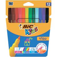 Фломастери Kids Visa 880 (12 кольорів)