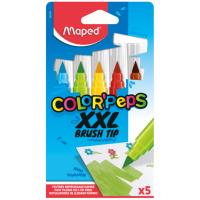 Фломастери брашеві Color Peps XXL (5 кольорів) MP.844705