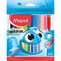 Фломастери Color Peps Ocean (12 кольорів) MP.845720