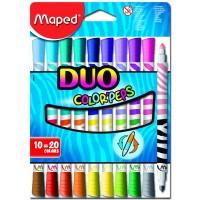 Фломастеры Color Peps Duo (20 цветов) MP.847010