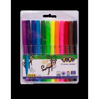 Фломастери (12 кольорів) ZB.2802