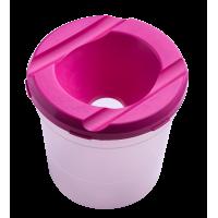 Стакан-непроливайка (розовый) ZB.6900-10