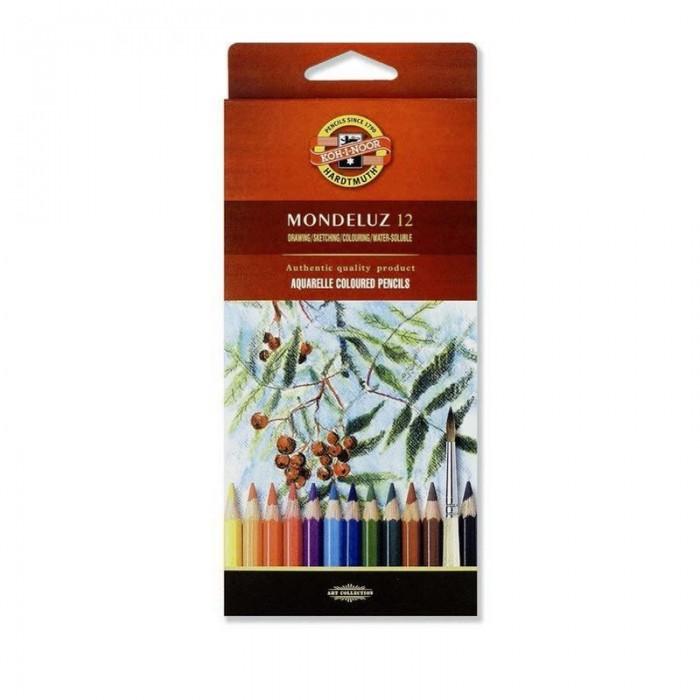 Карандаши акварельные художественные MONDELUZ (12 цв)