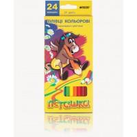 Карандаши цветные Пегашка (24 цв) 1010-24СВ
