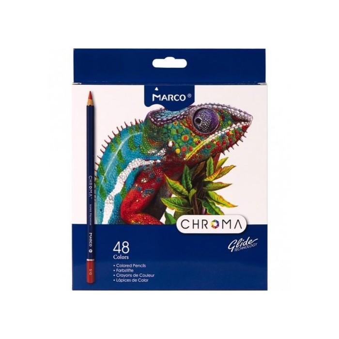 Олівці кольорові CHROMA (48 кол) 8010-48CB