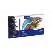 Олівці кольорові CHROMA (100 кол) 8010-100CB
