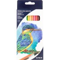 Олівці кольорові акварельні (12 кольорів)  K18-1049