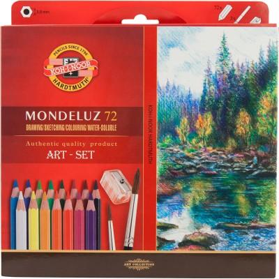Олівці акварельні художні MONDELUZ (72 кол)