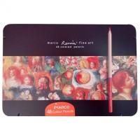 Карандаши цветные в металлической коробке Fine Art (48 цветов)