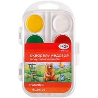 Акварель Мультики в пластиковому пеналі (8 кольорів)