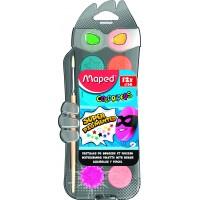 Акварель Color Peps (12 кольорів+пензлик) MP.811520