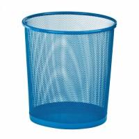 Корзина для паперів металева, кругла (синій) ZB.3126-02
