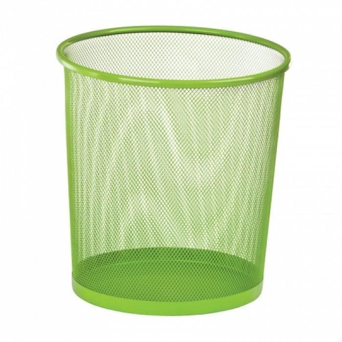 Корзина для бумаг металлическая, круглая (салатовый) ZB.3126-15