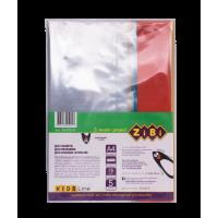 Обложка для тетрадей 75мкм, А4 с клапаном PVC 5шт  ZB.4712-99