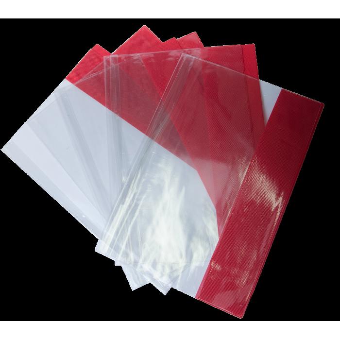 Обложки для тетрадей с цветными полями Kids Line А4 (5шт) ZB.4710-99