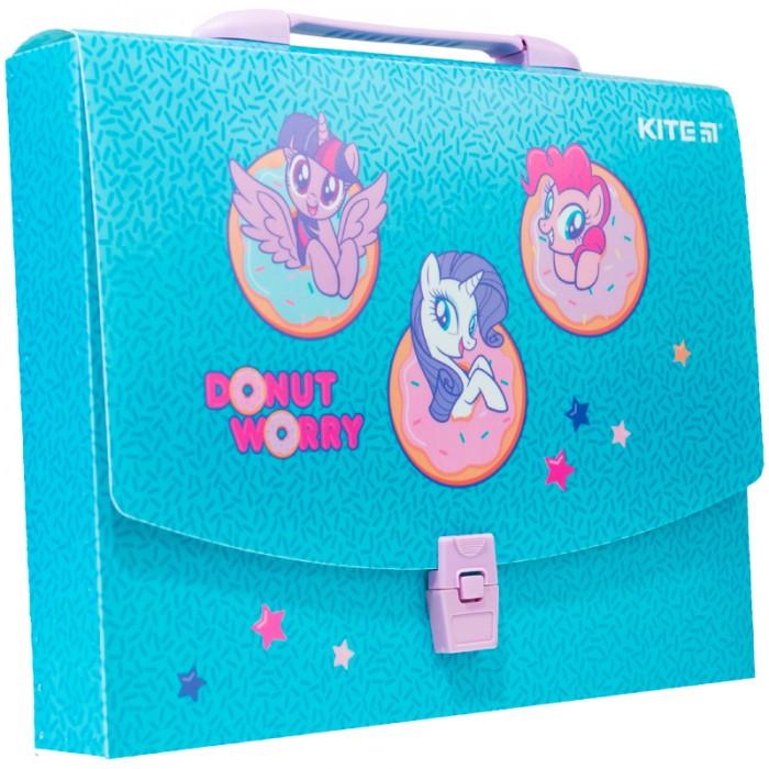 Портфель-коробка пластиковий А4 LP