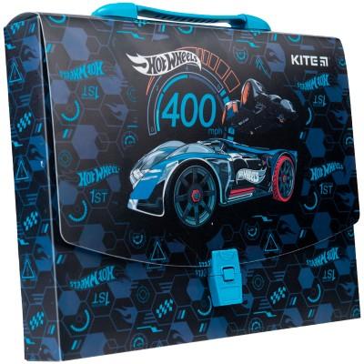 Портфель-коробка пластиковый А4 HW