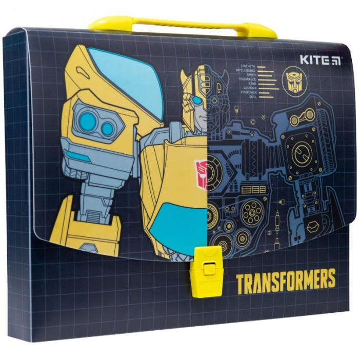Портфель-коробка пластиковый А4 TF