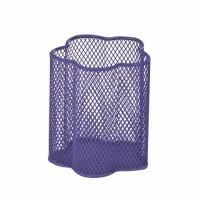 Подставка для ручек металлическая (фиолетовый) ZB.3101-07