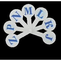 Набір букв (англійський алфавіт) ZB.4903