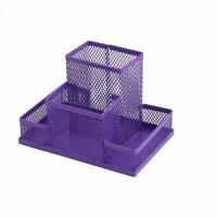 Прибор настільний металевий (фіолетовий) ZB.3116-07