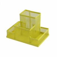 Прибор настольный металлический (желтый) ZB.3116-08
