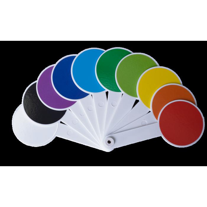 Набор цветных и геометрических фигур  ZB.4904