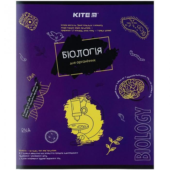 Тетрадь предметная 48 листов, клетка Classic, биология (8шт)