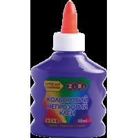Клей для слаймів непрозорий (фіолетовий) 88мл. ZB.6113-07