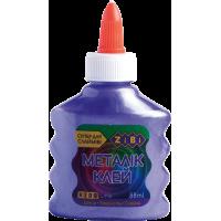 Клей для слаймів кольоровий Металік (фіолетовий) 88мл.