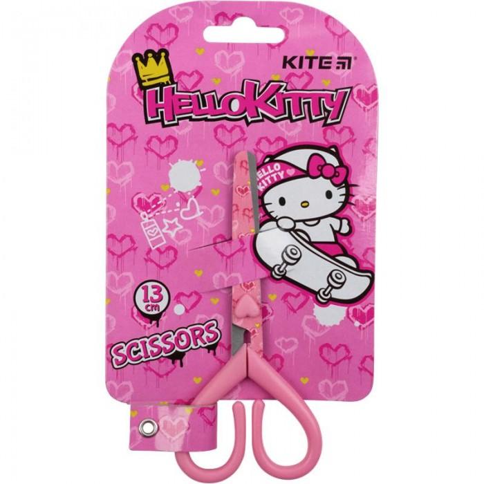 Ножницы детские с рисунком на лезвии, 13см HK