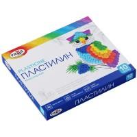 Пластилин Классический (10 цветов) 200г. 281032
