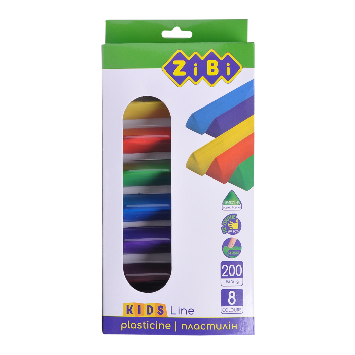 Пластилин (8 цветов) 200г. Kids Line ZB.6226