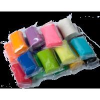 Тесто цветное для лепки 50г. (ассорти) ZB.6257