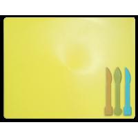 Доска для пластилина, желтая (3 стека в комплекте) ZB.6910-08