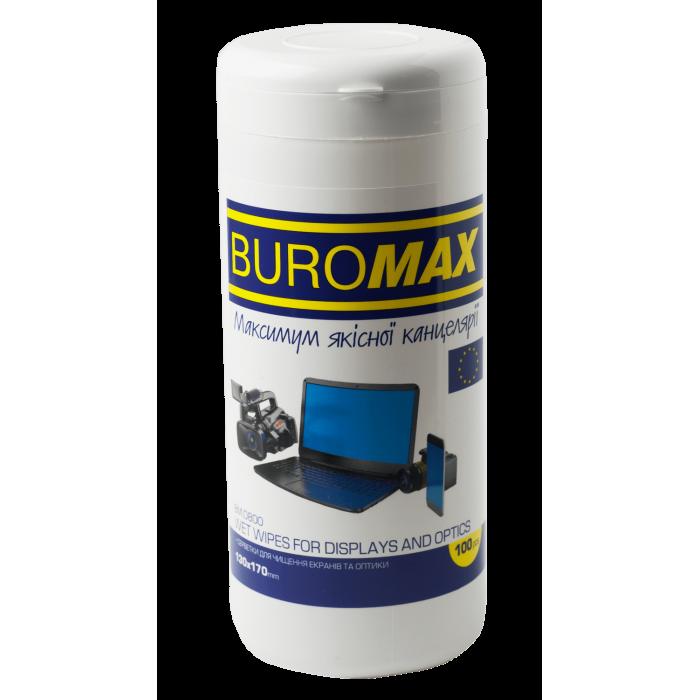 Серветки для чищення екранів, моніторів і оптики bm.0800