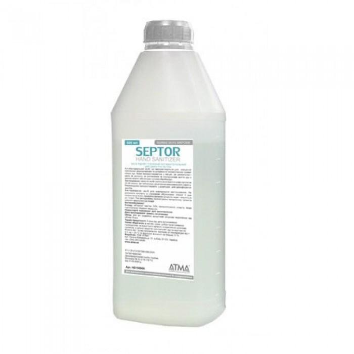 Средство жидкое гигиеническое антибактериальное для кожи рук и тела SEPTOR 900мл