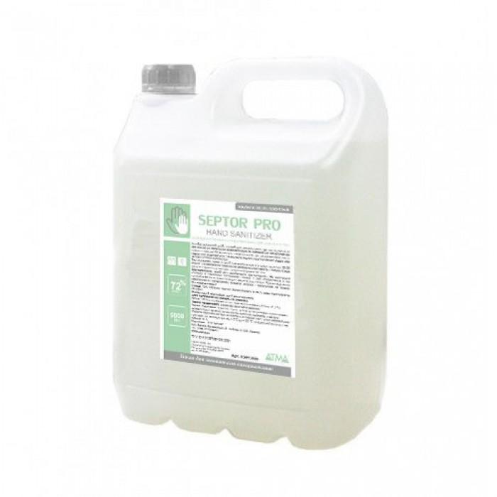 Средство жидкое гигиеническое антибактериальное для кожи рук и тела SEPTOR PRO 5л
