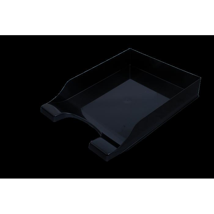 Лоток горизонтальный Симетрия (черный) 80803
