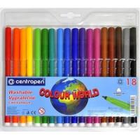 Фломастери (18 кольорів)  7550/18ТП