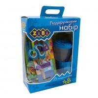 Набор подарочный для детского творчества (13 предметов) голубой  ZB.9920-14